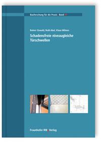 Buch: Schadensfreie niveaugleiche Türschwellen