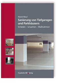 Buch: Sanierung von Tiefgaragen und Parkhäusern