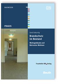 Buch: Brandschutz im Bestand. Wohngebäude und Betreutes Wohnen
