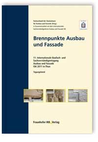 Buch: Brennpunkte Ausbau und Fassade