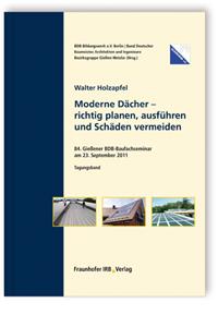 Buch: Moderne Dächer