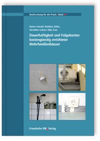 Buch: Dauerhaftigkeit und Folgekosten kostengünstig errichteter Mehrfamilienhäuser