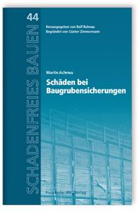 Buch: Schäden bei Baugrubensicherungen