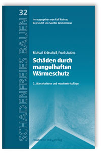 Buch: Schäden durch mangelhaften Wärmeschutz