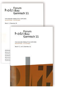 Buch: 17. Internationales Holzbau-Forum. 2 Bd
