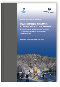 Buch: Developments in Climate Control of Historic Buildings