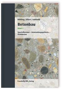 Buch: Betonbau. Band 3
