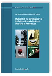 Buch: Maßnahmen zur Bewältigung von Notfallsituationen behinderter Menschen in Hochhäusern