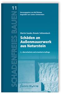 Buch: Schäden an Außenmauerwerk aus Naturstein