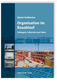 Buch: Organisation im Bauablauf