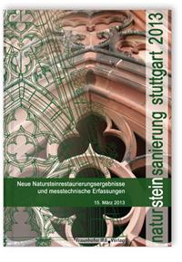 Buch: Natursteinsanierung Stuttgart 2013