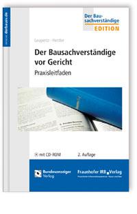 Buch: Der Bausachverständige vor Gericht