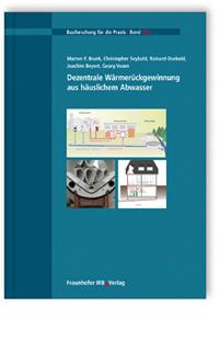Buch: Dezentrale Wärmerückgewinnung aus häuslichem Abwasser