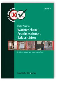Buch: Wärmeschutz-, Feuchteschutz-, Salzschäden