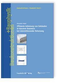Buch: Effiziente Anheizung von Gebäuden in massiver Bauweise bei intermittierender Beheizung