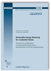 Forschungsbericht: Renewable Energy Balancing for residential Homes