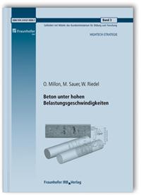 Forschungsbericht: Beton unter hohen Belastungsgeschwindigkeiten. Abschlussbericht zum Teilprojekt 2