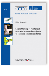 Buch: Strengthening of reinforced concrete beam-column joints to increase seismic resistance