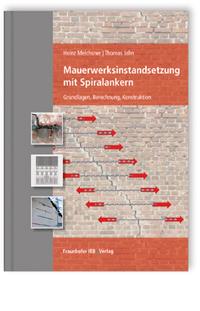 Buch: Mauerwerksinstandsetzung mit Spiralankern