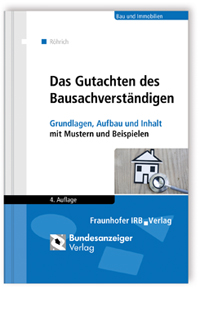 Buch: Das Gutachten des Bausachverständigen