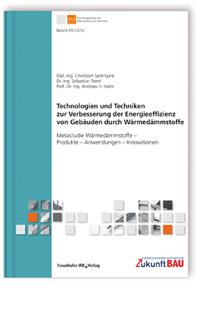 Buch: Technologien und Techniken zur Verbesserung der Energieeffizienz von Gebäuden durch Wärmedämmstoffe
