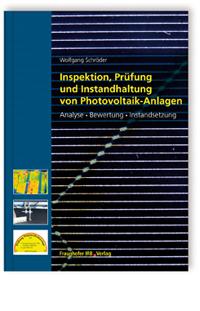 Buch: Inspektion, Prüfung und Instandhaltung von Photovoltaik-Anlagen