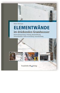 Buch: Elementwände im drückenden Grundwasser