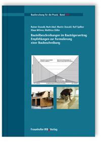 Buch: Bauteilbeschreibungen im Bauträgervertrag