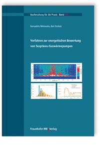 Buch: Verfahren zur energetischen Bewertung von Sorptions-Gaswärmepumpen