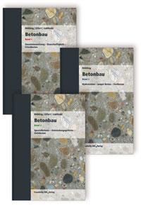 Buch: Betonbau. Band 1 - 3