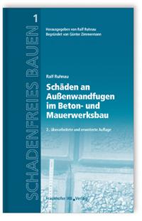 Buch: Schäden an Außenwandfugen im Beton- und Mauerwerksbau