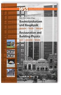 Buch: Bauinstandsetzen und Bauphysik