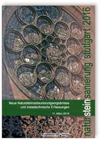Buch: Natursteinsanierung Stuttgart 2016