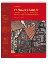 Buch: Fachwerkhäuser restaurieren - sanieren - modernisieren