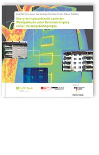 Buch: Energieeinsparpotenzial sanierter Wohngebäude unter Berücksichtigung realer Nutzungsbedingungen