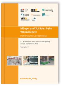Buch: Mängel und Schäden beim Wärmeschutz. Problempunkte und Sanierung