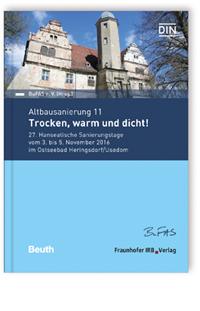 Buch: Altbausanierung 11. Trocken, warm und dicht!