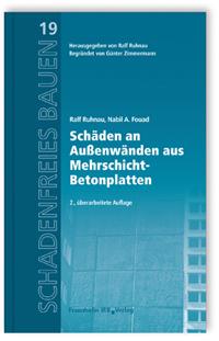 Buch: Schäden an Außenwänden aus Mehrschicht-Betonplatten