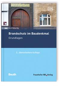 Buch: Brandschutz im Baudenkmal. Grundlagen