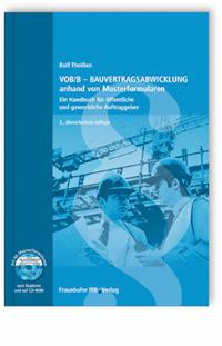 Buch: VOB/B - Bauvertragsabwicklung anhand von Musterformularen