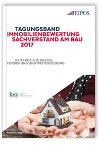 Buch: Tagungsband Immobilienbewertung und Sachverstand am Bau 2017