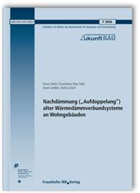 Forschungsbericht: Nachdämmung (