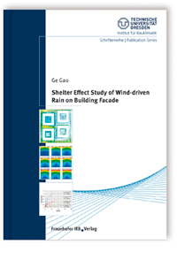 Buch: Shelter effect study of wind-driven rain on building facade