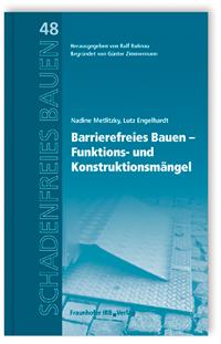 Buch: Barrierefreies Bauen - Funktions- und Konstruktionsmängel