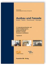 Buch: Ausbau und Fassade