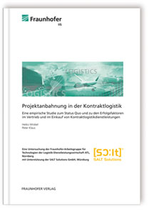 Buch: Projektanbahnung in der Kontraktlogistik