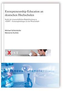Buch: Entrepreneurship Education an deutschen Hochschulen