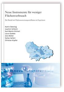 Buch: Neue Instrumente für weniger Flächenverbrauch
