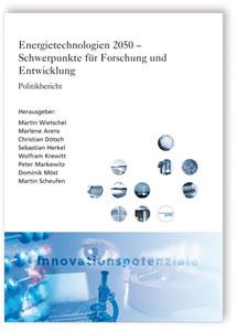 Buch: Energietechnologien 2050. Politikbericht
