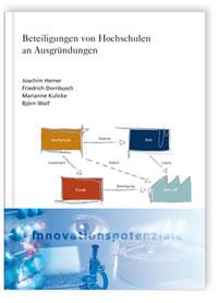 Buch: Beteiligungen von Hochschulen an Ausgründungen